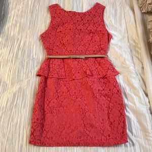 Forever21 Coral Dress